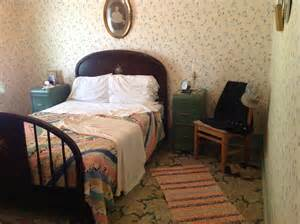 like in the bedroom master bedroom in the conductor s house at the railway