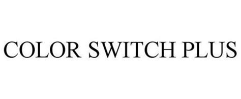 color switch plus color switch plus trademark of sears brands llc serial
