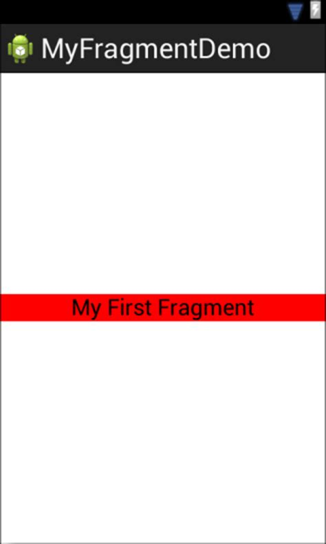 layout android fragment an introduction to android fragments techotopia