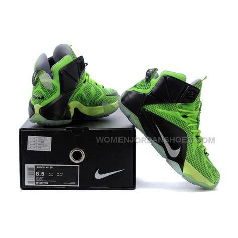 lebron basketball shoes on sale cheap nike lebron 12 green black basketball shoes on sale