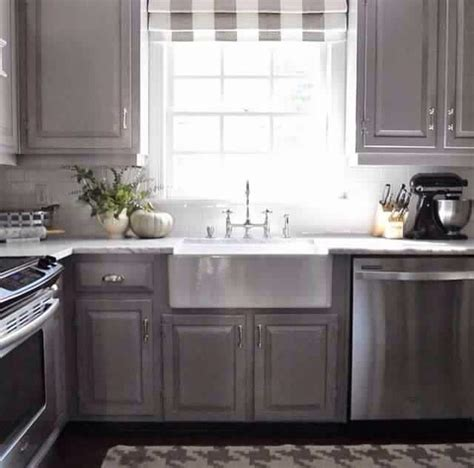 Cabinet color   winter gates by Benjamin Moore   Kitchen