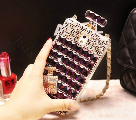 Chanel Parfum Swarovski For Iphone 6 buy wholesale classic swarovski chanel perfume bottle parfum n5 rhinestone cases for samsung