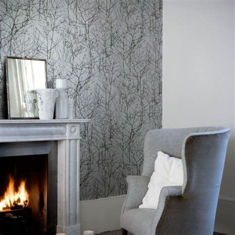 Wall Shades For Living Room by Best 25 Grey Wallpaper Ideas On Blue