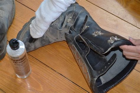 treating leather boots preservation solutions