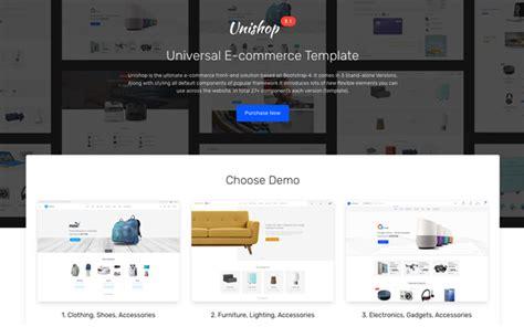 Unishop Universal E Commerce Template 187 Website Templates Themes Buy Universal Website Template