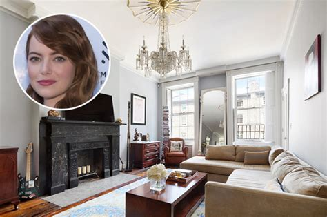 emma stone home see inside emma stone s former new york townhouse