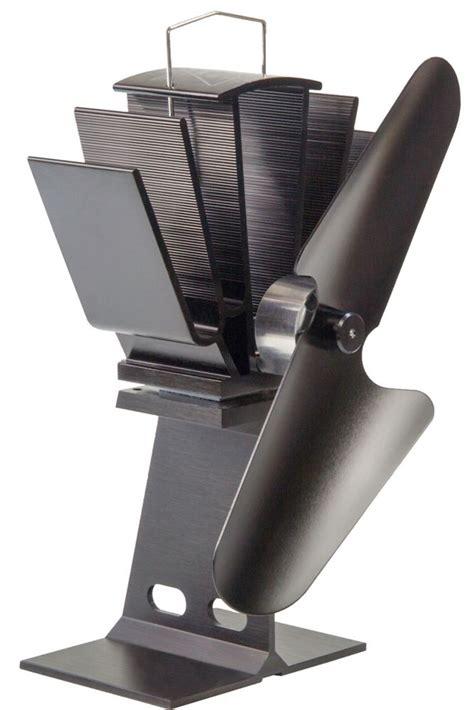 Ecofan Alcona Heat Powered Wood Stove Fan 100 Cfm The