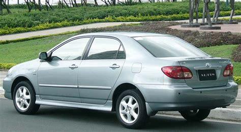 Toyota Corolla Altis Wiki File 2006 Altis E120 2 Jpg