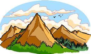 clipart montagna ciao bambini quattro ripassi in montagna schede di geografia