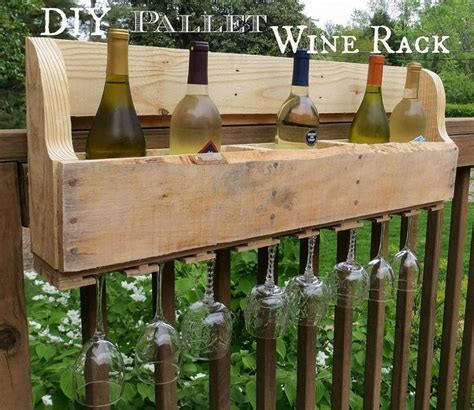 How To Make A Wine Rack From Pallets by Diy Pallet Wine Rack