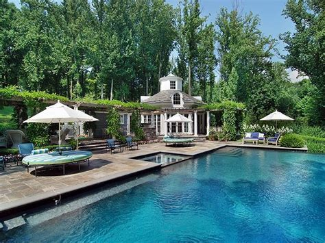 Plans For Guest House In Backyard Complete Rosewood Country Estate In Chappaqua