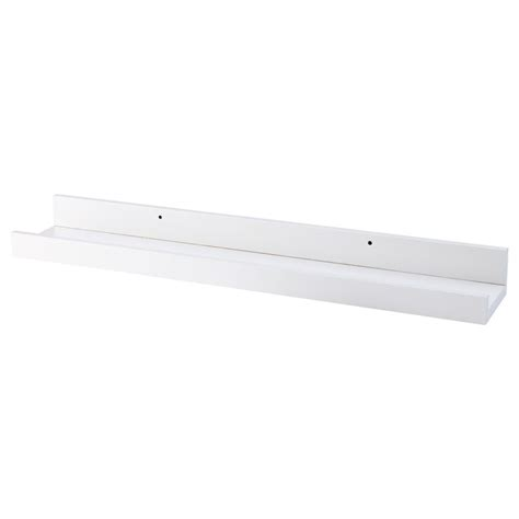 ikea ledge shelf ribba picture ledge white