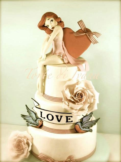 115 best images about pin up cakes on rockabilly pin up and cake