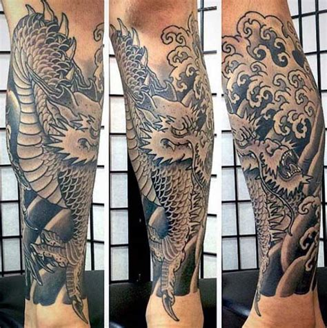 japanese leg tattoos for men 90 japanese designs for manly ink ideas