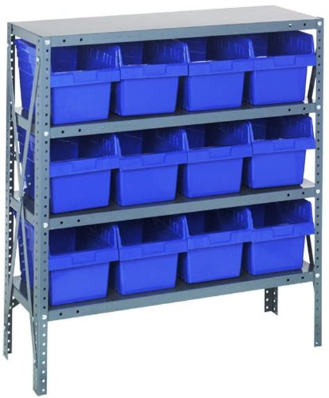 plastic storage bin steel shelving systems 1839 sb808