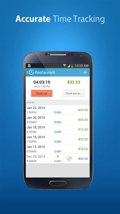 Android Hours by Hourskeeper Hours Tracker Para Android Descargar Gratis