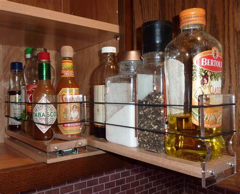 Vertical Spice Rack For Cabinet Cabinet Door Spice Racks Pull Out Spice Racks Spice