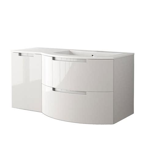 43 Inch Bathroom Vanity Top by Latoscana Oa43opt3 Oasi 43 Inch Modern Bathroom Vanity With 2 Drawers Left Side