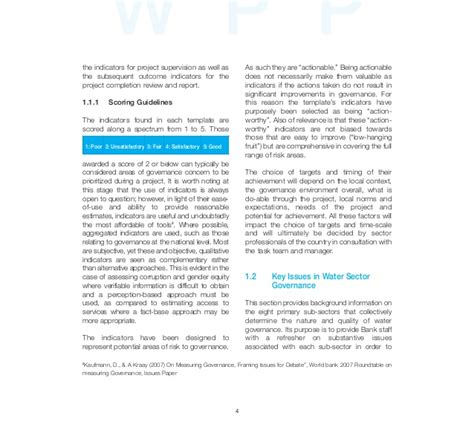 water sector governance in africa vol 2