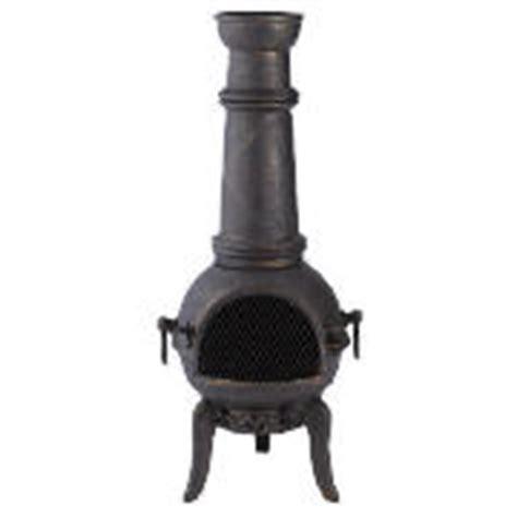 Tesco Chimenea Cast Iron Gas Patio Heaters