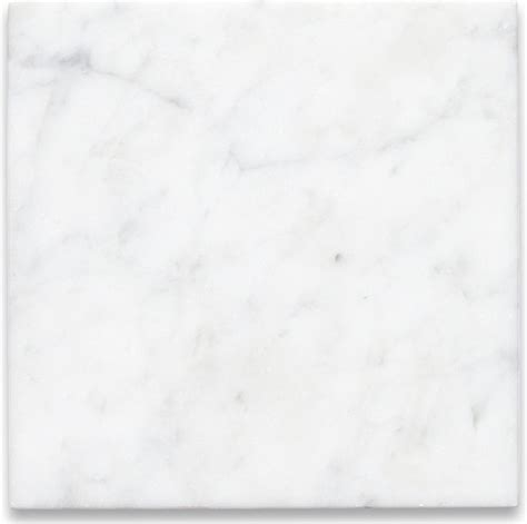 carrara white 6 x 6 tile honed marble from italy wall and floor tile by center