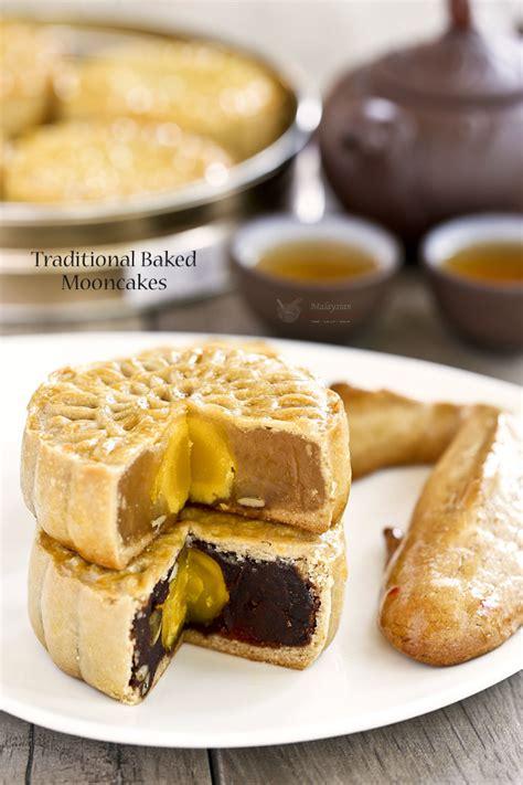 Handmade Mooncake - traditional baked mooncakes malaysian kitchen
