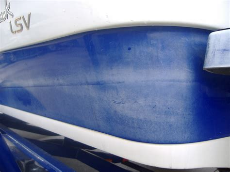 boat paint is faded how to save money on fiberglass repairs boatsellr