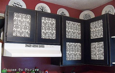 thrive 7 picture frame cabinet door tutorial