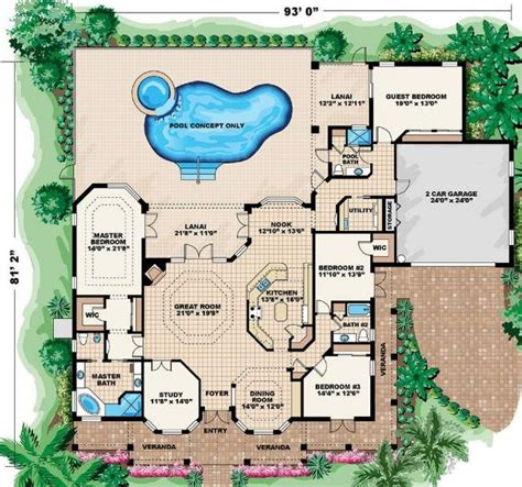 Coastal Floor Plans by Beach Cottage House Floor Plans Beach Cottage Colors