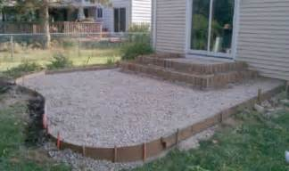 sted concrete patio ideas review building pit on concrete patio garden landscape