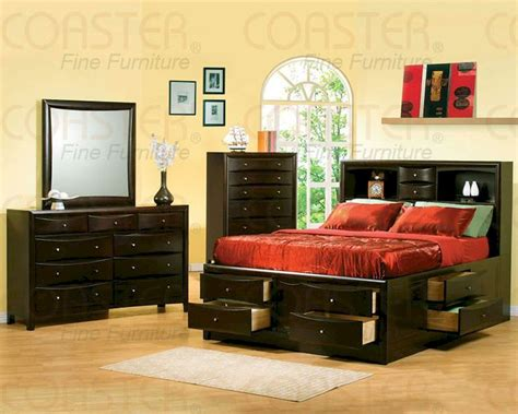 bedroom set with bookcase headboard coaster phoenix bedroom set with bookcase headboard co