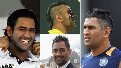 musharraf statement on dhonis hairstyles for long hair mahendra singh dhoni s hairstyles from dreadlocks to