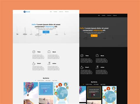 website psd templates april 2016 designazure
