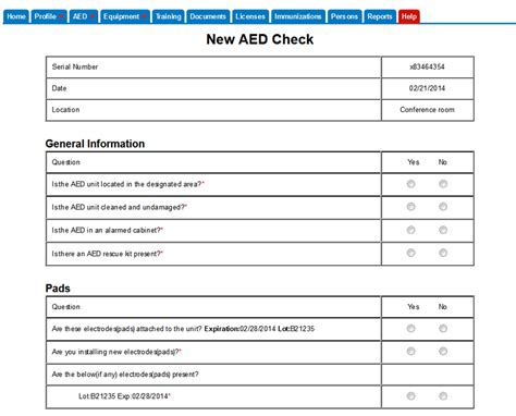 Aed Program Template Aed Management Programs And Aed Services