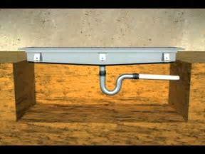 trench drain installation   YouTube