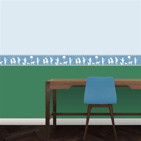kinderzimmer bordure in welcher hohe die besten 25 blaue schlafzimmer ideen auf