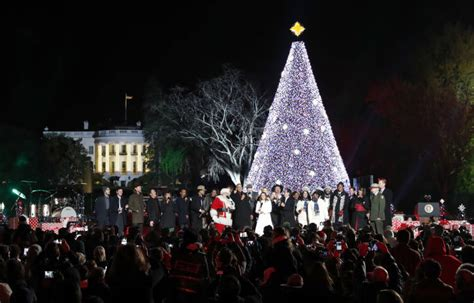 tree lighting 2016 photos national tree lighting 2016 wtop