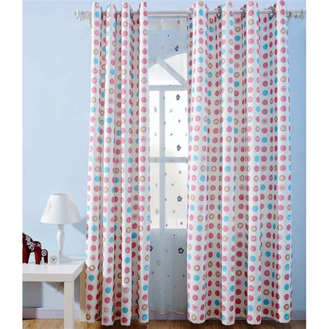 polka dot kids curtains colorful polka dots print cotton cute kids curtains