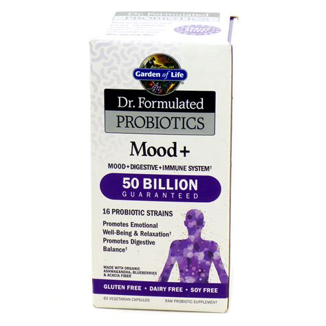 Garden Of Probiotics Mood Probiotics Mood Plus By Garden Of 60 Capsules