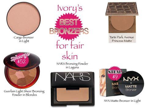 best bronzer for light skin ivory s best bronzers for fair skin trends