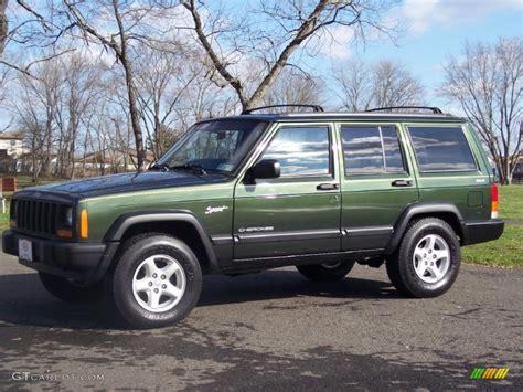 1997 Jeep Sport 1997 Emerald Green Pearlcoat Jeep Sport 4x4