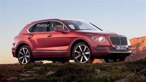 bentley bentayga render bentley bentayga s little brother could be electric