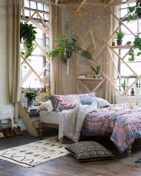 Design Home Inspiration Boho Bohemian Bedroom Basics From Outfitters Glitter Magazine
