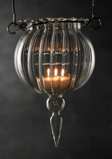 Hanging Glass Candle Holders For Weddings by Glass 6in Hanging Candle Holders
