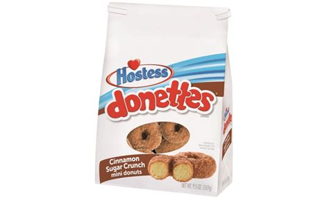 hostess cinnamon sugar crunch donettes and apple streusel coffee cakes 2017 06 13 snack and