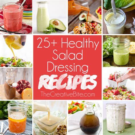 light salad dressing recipes healthy salad dressing recipes