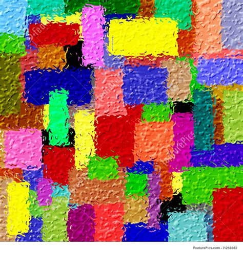 colorful colors abstract patterns colourful blocks stock illustration i1258883 at featurepics