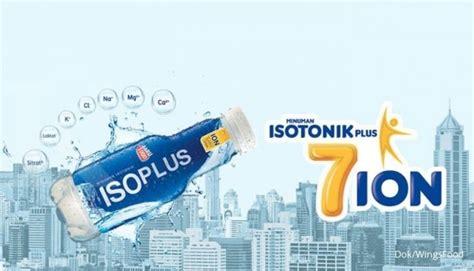 Minuman Isotonik Isoplus industri minuman isotonik tumbuh 6 24 per tahun