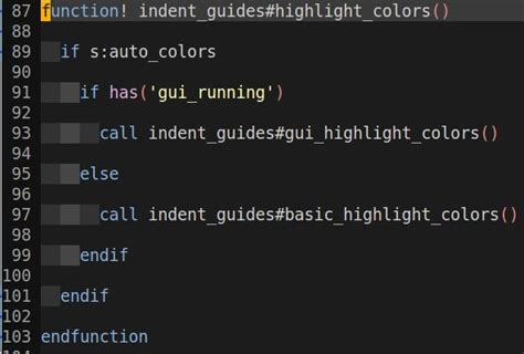 pattern matching vim highlighting can the searched pattern be included in a