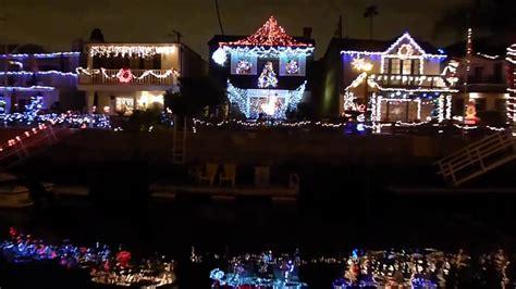 Christmas Time At Naples Long Beach California Hd Youtube Naples California Lights